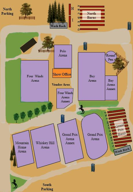 Horse Park At Woodside Facility Map